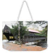 Albany Covered Bridge  Weekender Tote Bag