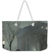Albany In The Snow Weekender Tote Bag