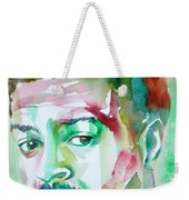 Albert Ayler - Watercolor Portrait Weekender Tote Bag