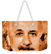 Albert Einstein 01 Weekender Tote Bag