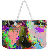 Albert Einstein - Atomic Particles  Weekender Tote Bag