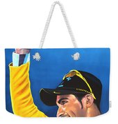 Alberto Contador Weekender Tote Bag by Paul Meijering