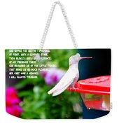 Albino Angel Weekender Tote Bag
