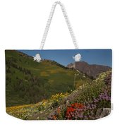 Albion Basin Summer Weekender Tote Bag