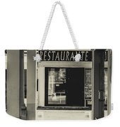 Albufeira Street Series - Restaurante Weekender Tote Bag