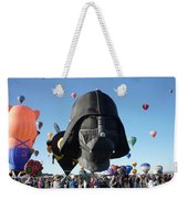 Albuquerque International Balloon Fiesta With Darth Weekender Tote Bag