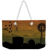 Albury At Night Weekender Tote Bag