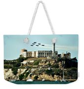 Alcatraz Blues Weekender Tote Bag