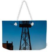 Alcatraz Guard Tower Weekender Tote Bag by Steve Gadomski