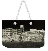 Alcatraz The Rock Sepia 1 Weekender Tote Bag