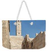 Aleppo Citadel In Syria Weekender Tote Bag