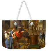 Alexander Consulting The Oracle Of Apollo Weekender Tote Bag
