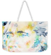 Alexander Hamilton - Watercolor Portrait Weekender Tote Bag