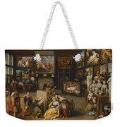 Alexander The Great Visiting The Studio Of Apelles Weekender Tote Bag