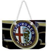 Alfa Romeo Badge Weekender Tote Bag