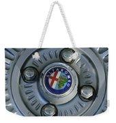 Alfa Romeo Wheel Rim Weekender Tote Bag