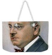 Alfred Adler (1870-1927) Weekender Tote Bag
