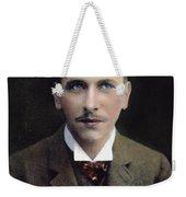 Alfred L Weekender Tote Bag