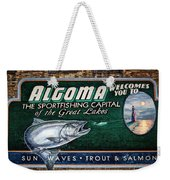 Algoma Welcomes You Weekender Tote Bag by Joan Carroll