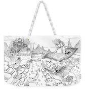 Ali Baba Cover Sketch Weekender Tote Bag