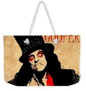 Alice Cooper 1 Weekender Tote Bag
