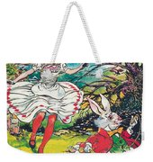 Alice In Wonderland Weekender Tote Bag by Jesus Blasco