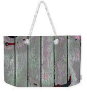 Alice On The Fence Weekender Tote Bag