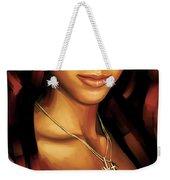 Alicia Keys Artwork 1 Weekender Tote Bag
