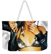 Alicia Keys Artwork 2 Weekender Tote Bag by Sheraz A