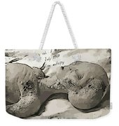 Alien Art Weekender Tote Bag