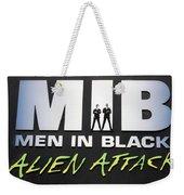 Alien Attack Weekender Tote Bag