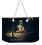 Alien Autopsy Alien Abduction Weekender Tote Bag