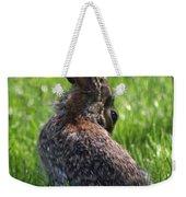Alien Bunny Weekender Tote Bag