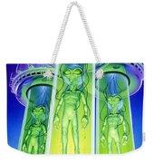 Alien Experiment Weekender Tote Bag by Steve Read