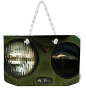Alien Eyes Weekender Tote Bag by Christi Kraft