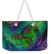 Alien Flora / Worlds Away Weekender Tote Bag