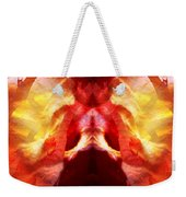 Alien In Prayer Weekender Tote Bag
