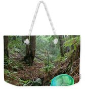 Alien In Redwood Forest Weekender Tote Bag