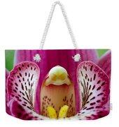 Alien Orchid Weekender Tote Bag