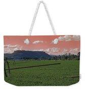 Alien Sky Over Table Rock Weekender Tote Bag