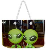 Aliens And Whatamacallit Weekender Tote Bag