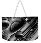 Alignment Of The Planets Bw Weekender Tote Bag