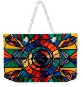 Alignment Weekender Tote Bag by Teal Eye  Print Store