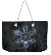 Snowflake Photo - Alioth Weekender Tote Bag