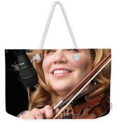 Alison Krauss Weekender Tote Bag