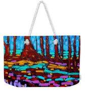 Alizarin Woods Weekender Tote Bag