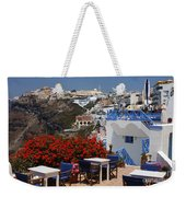 All About The Greek Lifestyle Weekender Tote Bag