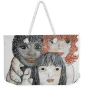 All God's Children Weekender Tote Bag