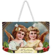 All Good Wishes For Christmas Weekender Tote Bag