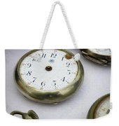 All Out Of Time Weekender Tote Bag